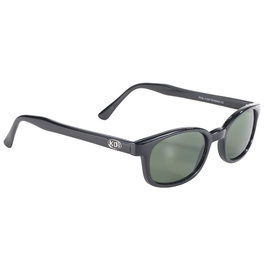 Pacific Coast Sunglasses XKD Black Frame/Green Lens
