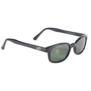 Pacific Coast Sunglasses XKD Black Frame/Green Lens