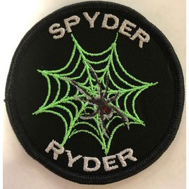 Route 66 Biker Gear Patch Spyder Ryder 3in