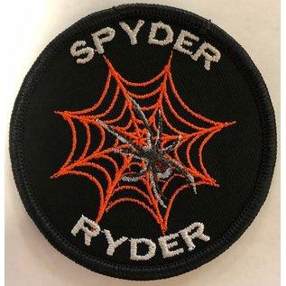 Route 66 Biker Gear Patch Spyder Ryder 3in