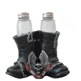 DWK Salt and Pepper Boot
