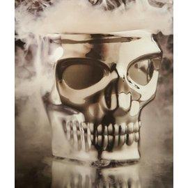 Kruzer, LLC Skull Kaddy Perch Mount Chrome