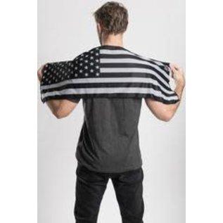 Hair Glove Cooling Towel B/W Flag