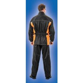 AET Rainsuit Brooks Men Black/Orange