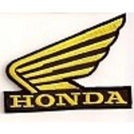 Biker's Stuff Patch Honda Wing 3in