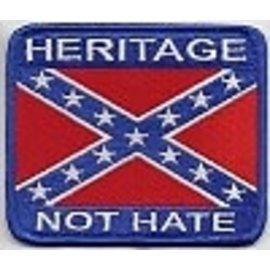 Biker's Stuff Patch Heritage Not Hate
