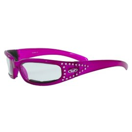 Global Vision Eyewear Marilyn 3 Colored Frame Clear Lens