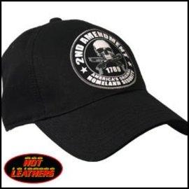 Hot Leather Hat 2nd Amendment