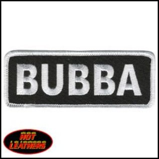 Hot Leather Patch Bubba 4in