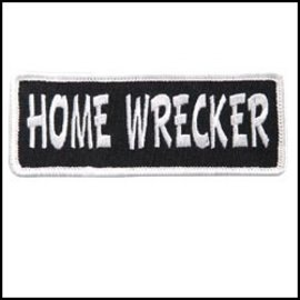 Hot Leather Patch Home Wrecker 4in