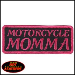 First Coast Biker Gear Patch Motorcycle Momma Hot Pink 4in