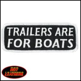 Hot Leather Patch Trailers Are For Boats 4in