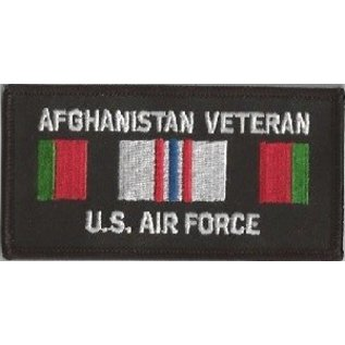 Jerwolf Enterprises Patch Afghan Vet Air Force