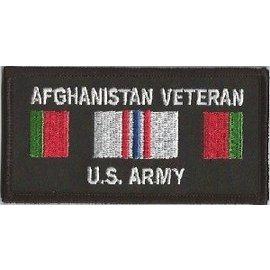 Jerwolf Enterprises Patch Afghan Vet Army