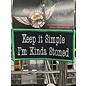 First Coast Biker Gear Patch Keep It Simple Stoned 4in