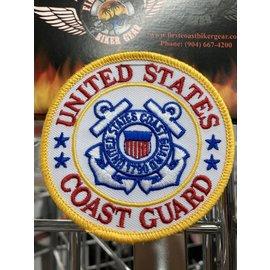 Eagle Emblems Patch US Coast Guard 3in