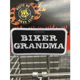The Cheap Place Patch Biker Grandma 4in