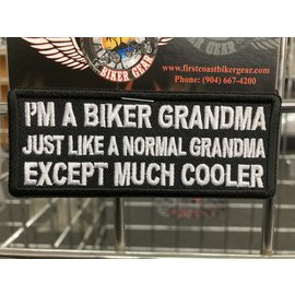 The Cheap Place Patch Biker Grandma Normal 4in
