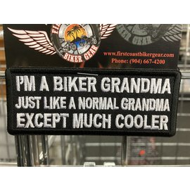 The Cheap Place Patch Biker Grandpa Normal 4in