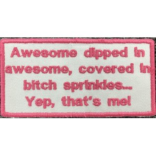Patch Stop Patch Awesome Dipped in Awesome 4in
