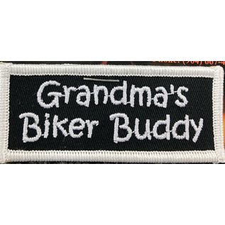 First Coast Biker Gear Patch Grandmas Biker Buddy 3in