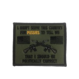 Route 66 Biker Gear Patch Serve My Country 3 in