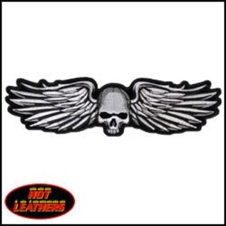 Hot Leather PATCH METAL WINGS MULTI 11W 3H