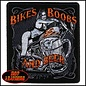Hot Leather Patch Bikes Boobs Beer 4in