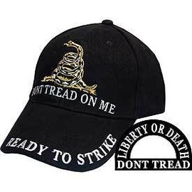 Eagle Emblems Hat Dont Tread Black