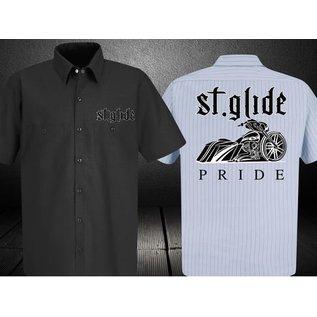Nasty Baggers Work Shirt Street Glide Pride Black