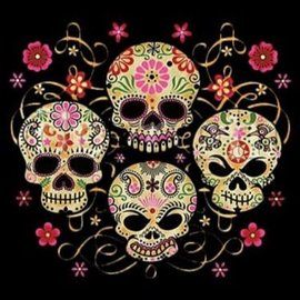 Route 66 Biker Gear Shirt 4 Sugar Skull