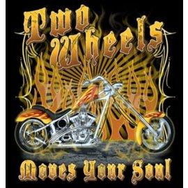 First Coast Biker Gear Shirt Two Wheels Move the Soul