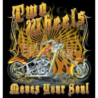 First Coast Biker Gear Shirt Two Wheels Move the Soul