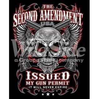 First Coast Biker Gear Shirt 2nd Amendment Issued