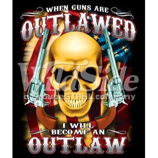 Route 66 Biker Gear Shirt Become An Outlaw
