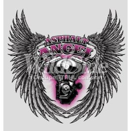 Route 66 Biker Gear Shirt Asphalt Angel