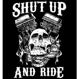 First Coast Biker Gear Shirt Shut Up & Ride