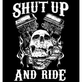 First Coast Biker Gear Shirt Shut Up & Ride