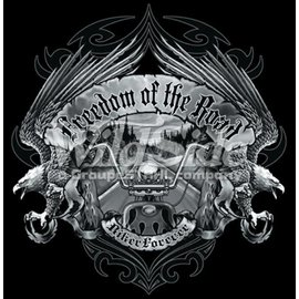 Route 66 Biker Gear Shirt Freedom of the Road