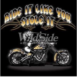 First Coast Biker Gear Shirt Ride It Stole It Babe
