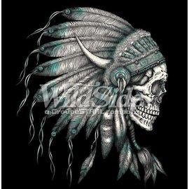 Route 66 Biker Gear *DISC Shirt Indian Chief