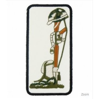 Patch Stop Patch Field Cross Colored 4in