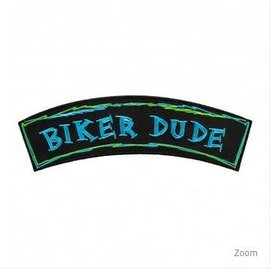Patch Stop Patch Biker Dude 7in