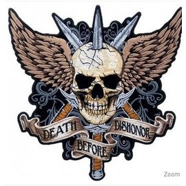 Patch Stop Patch Death Before Dishonor 12 in