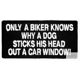 Patch Stop Patch Only A Biker Knows 4in