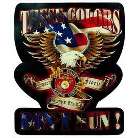 Patch Stop U.S. Marine Eagle Leather Patch