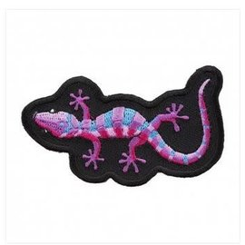 Patch Stop Patch Purple Gecko 3in