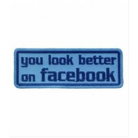 Patch Stop Patch You Look Better on FB 4in