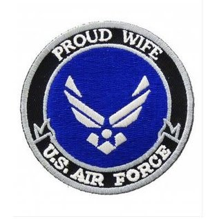 Patch Stop Patch Proud Wife Air Force 3 in