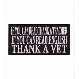 Patch Stop Patch Thank Teacher Vet 3in
